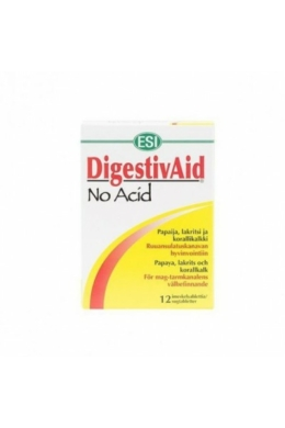 Naturtanya esi No Acid-Stop digestivaid savlekötő szopogató tabletta 12 db