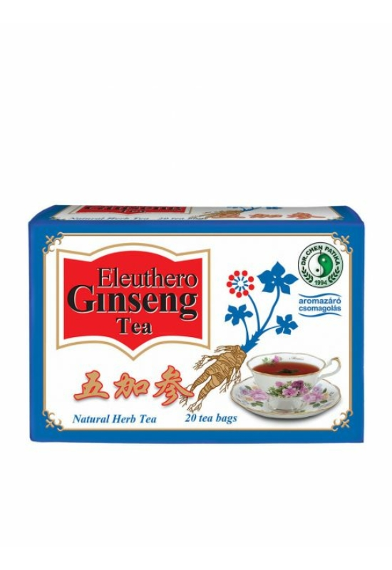 Dr.chen ginseng eleuthero zöldtea 20x2,3g 46 g
