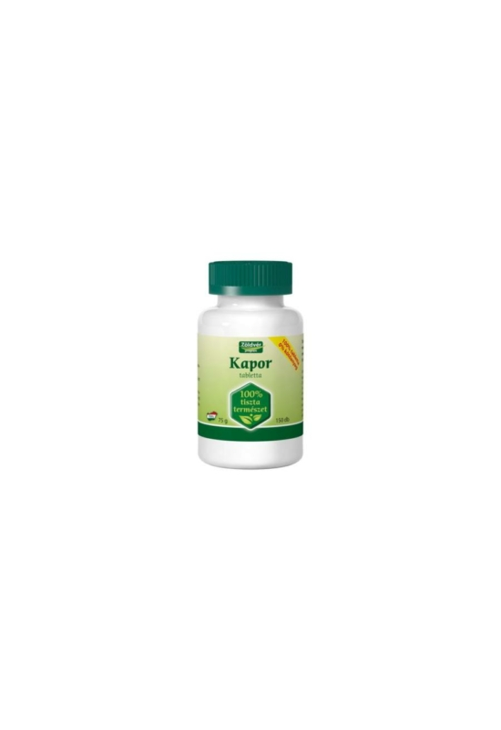 Zöldvér kapor tabletta 100% 150 db