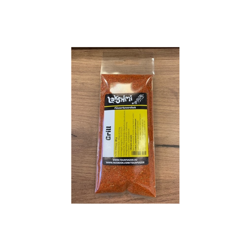Grill fűszerkeverék 40g /Toldi